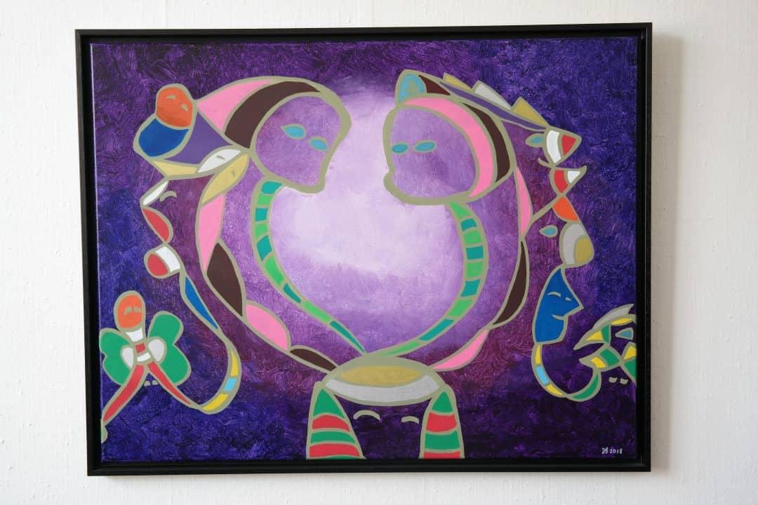 Purple balance